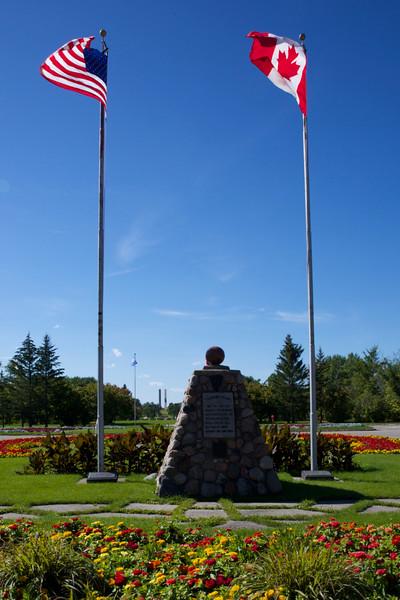 International Peace Garden, ND     Sept, 6, 2014