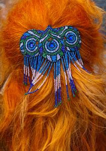 Georgina's Orange Hair Traquair House Innerleithen UK_6424