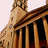 Mineva's temple, center of Assisi..<br /> Built 1 century BCE..converted to a Church..May also be a temple to Hercules...
