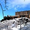 Edinburgh Castle Dec 2010..<br /> City shut down