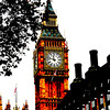 Artsy capture of Big Ben..