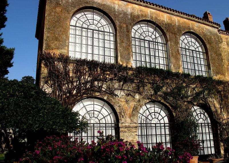 Interesting Italian architecture near the Ruins of Paestum.