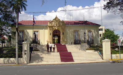 "SAN JOSE, COSTA RICA -  The appropriately named Casa Amarilla - or ""yellow house"" - is the home of the country's Cancilleria or Foreign Ministry."