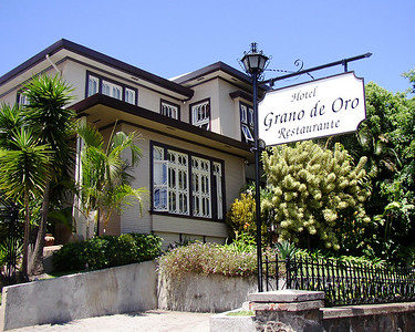 "SAN JOSE, COSTA RICA - Our second hotel in San Jose was the Grano de Oro, named one of the five ""Small Distinctive Hotels of Costa Rica"" (although we aren't sure by whom).  Another converted mansion once owned by a coffee plantation baron, Grano de Oro means ""The Golden Bean"" (coffee)."
