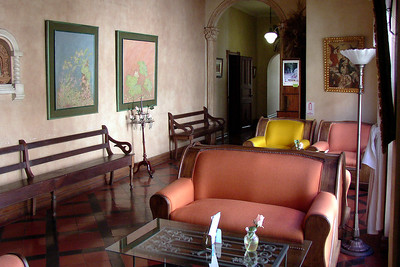 SAN JOSE, COSTA RICA - The Rosa del Paseo was an elegantly furnished bed-and-breakfast.