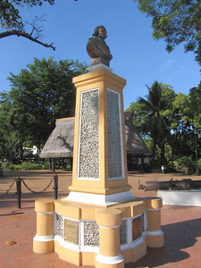 PAPEETE, TAHITI - With its profusion of flowers, it probably makes sense that even though the English were the first foreigners to visit the islands (Samuel Wallis, followed by James Cook), it is the French explorer Louis Antoine de Bougainville who is memorialized in Papeete's central park.