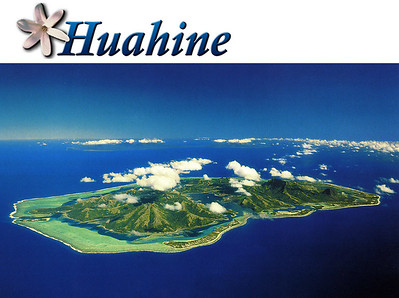 HUAHINE, POLYNESIA - Huahine was our first Windjammer stop.  The island is just beginning to discover tourism, and most of its two islands remain covered by lush forests.  The literal meaning of the name has been lost to history, but legend says it refers to fertility.