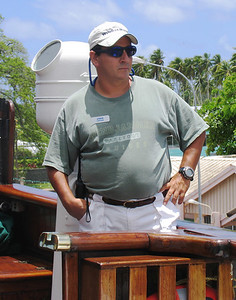 AMAZING GRACE - Our captain aboard the Amazing Grace was Captain Jorge Murillo, a self-effacing sea-faring veteran from Colombia.