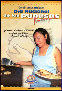 "SAN SALVADOR, EL SALVADOR - We learned from this poster on the wall of the National Archaeology Museum that we had arrived the day after ""National Pupusas Day."""