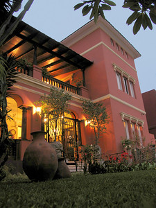LIMA, PERU - Our first hotel in Lima was the Antiqua Miraflores, a converted mansion build in the early 1900s in one of the city's more upscale districts.