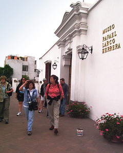 LIMA, PERU - Our first exposure to ancient Peruvian cultures came at the Museo Arqueologico Rafael Larco Herrera. Founded in 1926, it houses the largest private collection of pre-Columbian art in the world.