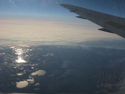 Morning flying into BsAs...