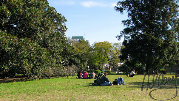 Recoleta park