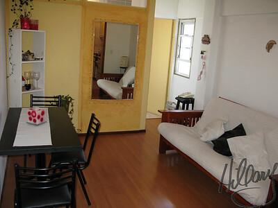 Living area looking toward the bedroom.