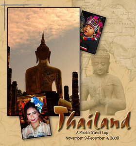 THAILAND - This is a photo travel log of our trip to the kingdom formerly known as Siam: charming, colorful, sometimes chaotic, and as we learned all too well, captivating Thailand.