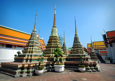BANGKOK - Once built to cover and commemorate the remains of royalty, chedis today may hold the remains of anyone wealthy enough to afford the construction.
