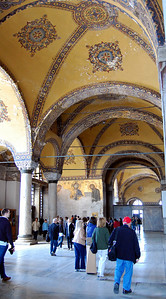 ISTANBUL - We could have spent hours wandering through the corridors of the Hagia Sophia, admiring the centuries-old architecture, the frescoes, mosaics, and elaborate artwork painted on the arched ceilings.