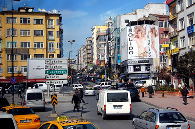 ISTANBUL - The city is a complex mix of cultures. As we entered on our first day, we saw all the trappings of a modern, urban metropolis - high rise buildings, billboards, and the inevitable traffic....