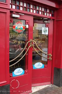 Love the colorful Irish doors!