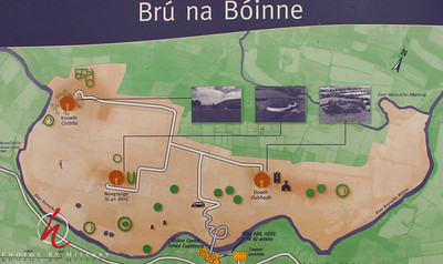 """""""New Grange"""" is a neolithic tomb built over 5000 years ago. One of many of these sites in the area, but one of the few you can actually go into."""