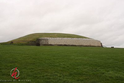 """This is the neolithic tomb """"New Grange""""."""