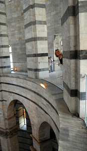 With the luxury of time, we had the opportunity to climb the 75 steps to the interior gallery for....