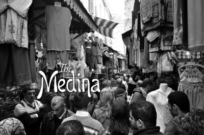 "And from its earliest beginnings, this was its heart – the medina, the ""old city."""