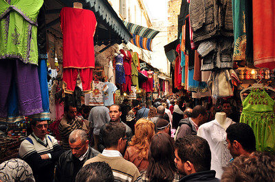 Here in the market – called the souk – people have bartered and traded, bought and sold, or just milled around for more than a thousand years.  They still do today.
