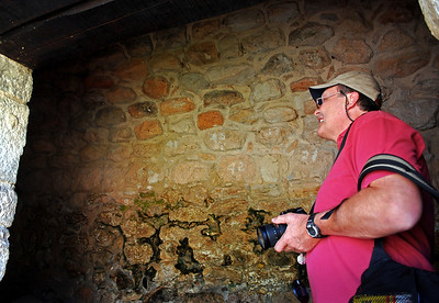 """Virtually ignored until the 1980s, Ek'Balam hasn't been transformed into the """"tourist attraction"""" as have some other Maya sites.  Consequently, we were generally free to roam the site at will and explore the nooks and crannies of stone-walled rooms last occupied more than 1200 years ago."""