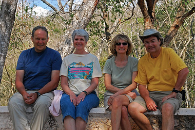 Like Stephens, we would be accompanied by traveling companions who also were interested in all things ancient.  Stephens explored the Yucatan with Frederick Catherwood, a British-born artist.  We traveled with Joe and Pat, our good friends from Pennsylvania.