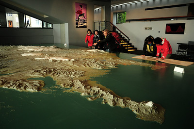 Inside the City Hall, there's usually a large relief map of Iceland, useful for planning out-of-town journeys.