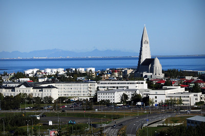 Our home base was Reykjavik, the world's northernmost capital, a city whose skyline is dominated by the towering Hallgrímskirkja. Iceland has a population of just 300,000 people, and two out of every three Icelanders live in the city.