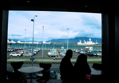 Inside the museum  is a small cafe where it's worth taking time out to enjoy the view of the harbor and Mount Esja through the floor-to-ceiling windows.