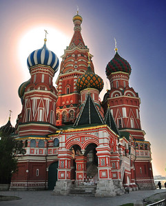 """Built by Ivan the Terrible in 1561 to commemorate his victory over his arch rivals the Tatars, its """"official"""" name is the Cathedral of the Intercession of the Virgin on the Moat."""