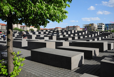 Just south of the Reichstag is the Memorial to the Murdered Jews of Europe - Germany's Holocaust Memorial - a powerful attempt by the nation to come to grips with its Nazi past.