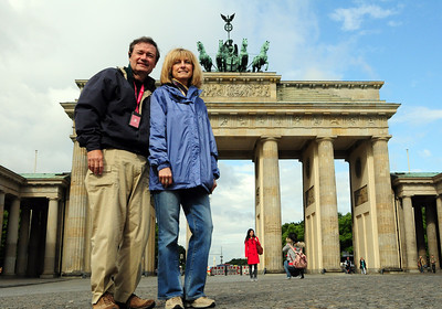 Who could resist posing for a photograph in front of the icon of Berlin?