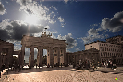 There is no better example of Eastern Europe's rebirth than Berlin.  Bombed to bits, ripped in half, then reunited....