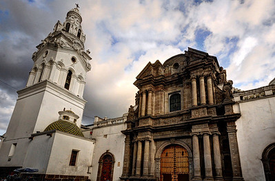 Located around the corner from the Plaza Grande, the El Sagrario Church is considered one of the most beautiful churches in Quito.