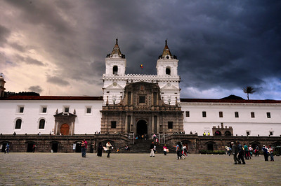 The Iglesia San Francisco was founded on the site of an Inca royal palace within weeks of the Spanish takeover of the city in 1534.