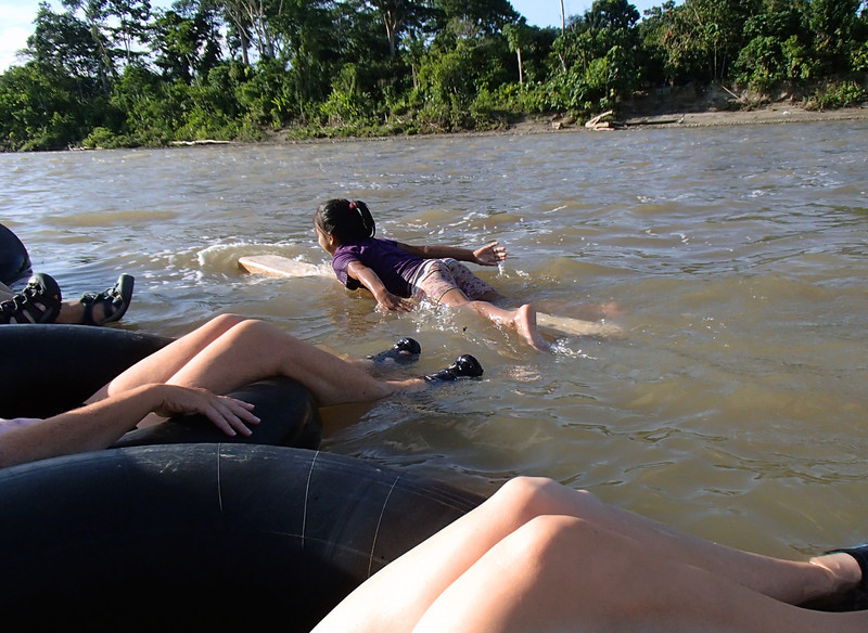 Then as abruptly as she had arrived, she cast off and left us in her wake.  This is life on the river for children of the Amazon.