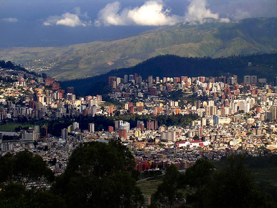 The people of Ecuador have long recognized that living along the middle of the Earth was something special.  A dozen miles south of the equatorial line, hemmed in by volcanic peaks, the ancients built a city. It is the oldest capital in South America.  Today we call it Quito.