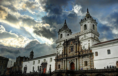 The centerpiece of Quito's cathedrals is the Iglesia San Francisco, the oldest colonial structure in the city and the largest religious complex in South America.