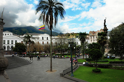 "Today the jewel of the city is its Centro Histórico – its ""old town.""  At its heart, the palm-fringed Plaza Grande."