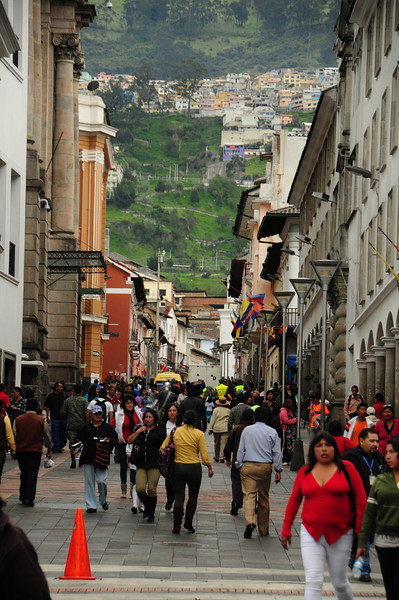 ...and the bustling energy of the Andean cities...