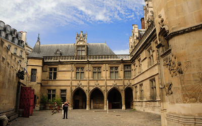 The Musée de Cluny, also known as the National Museum of the Middle Ages, is housed in one of only two remaining medieval homes in Paris, constructed in the 15th century by the rich and powerful abbot of the Cluny Abbey.