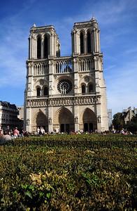 "The church's full name is the Cathédrale Notre-Dame de Paris or ""Our Lady of Paris.""  It remains an active Catholic church."