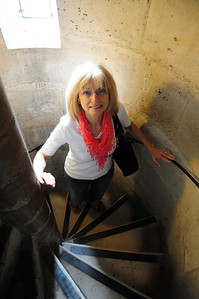 We climbed the 387 steps up into Notre Dame's towers...