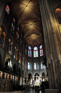 December 2, 1804 - the Cathedral of Notre Dame would see pagentry that rivaled that of ancient Rome.  Inside its massive nave, Napoleon Bonaparte - who had grown up hating the French - would snatch the crown from Pope Pius VII and crown himself emperor of all of France.  Notre Dame, France and indeed, all of Europe would never be the same.