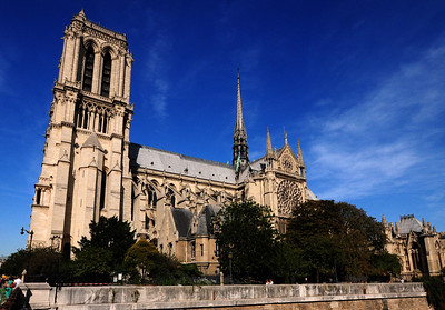 It's hard to believe today, but by the early 1800s, Notre Dame was in shambles, so much so that the local government began soliciting bids to tear the structure down.  But the cathedral would get new life in 1804 when a diminutive upstart from Corsica decided that it would be an ideal location for his coronation.
