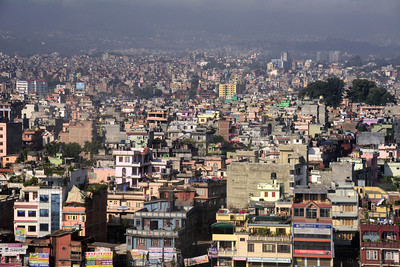 """But """"exotic"""" is probably not the first word that came to mind when we saw Kathmandu for the first time...."""